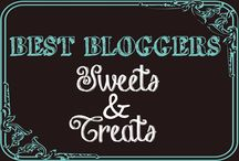 BB - Sweets & Treats / Sweets and Treats from the best bloggers out there.  Find desserts, treats, sweets, cakes, cupcakes, pies, frozen treats, ice cream, cookies, candy, and much much more.  Only 5 pins a day allowed.  Bobbi or Adrian can invite ONLY.  Want an invite? Go here - https://www.pinterest.com/3glol/group-board-invitations/