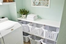 Organizing Laundry & Mudrooms