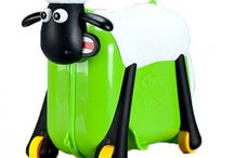 Shaun The Sheep ride-on suitcase
