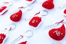 Blood donations souvenirs