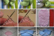 pletení, háčkování a jiné ručkování / vše o pletení a háčkování, vzorky