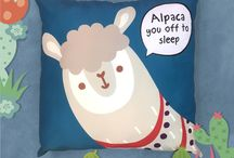 Alpaca the Herd / Cute & funky Alpaca Design Collection of Accessories and Giftware including Cushions, Gift Wrap, Air Fresheners or Mugs. #accessories #giftwrap #giftideas #homedecor #mug #cushion #alpaca
