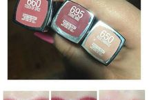 Swatches / Productos favoritos. Maquillaje. Pelo. Make up. Hair. Beauty. Swatches. Reviews. Favorites. Lipsticks.