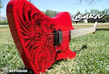 Custom Learn Guitars / Custom, hand-crafted guitars and basses from Luthier Mike Learn.