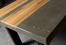 Meubles bois métal