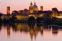 Città di Mantova / Mantova è un comune italiano di circa 50.000 abitanti capoluogo dell'omonima provincia in Lombardia. Dal luglio 2008 la città d'arte lombarda con Sabbioneta, entrambe accomunate dall'eredità loro lasciata dai Gonzaga che ne hanno fatto tra i principali centri del Rinascimento italiano ed europeo, è stata inserita nella lista dei patrimoni dell'umanità dell'UNESCO.