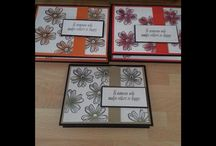 flower shop sponged effect card