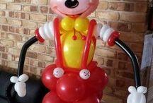 Miky en globos