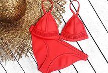 bikinis, swimsuits