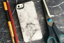 DIY / DIY marble phone and iPhone case More at www.veshionlife.com