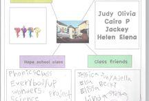 friend project class / hope school