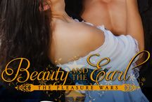 Beauty and the Earl (The Pleasure Wars 3) / The Pleasure Wars, Book 3 Wracked with guilt over his lover's death, Liam has spent a year in seclusion as he does his best to forget the past. Violet enters Liam's lair, intent on using her courtesan wiles to gather information for his desperate sister. She finds a man scarred inside and out, whose dark sensuality hides the wounded man within. Violet's stories weave a spell that begins to slip past Liam's defenses. But the truth could destroy the love that is saving them both.