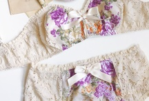 I want to learn how to sew bras.. and pretty underthings