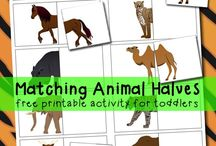 hayvanlar ve yavrullari