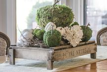 Decorating with boxwood