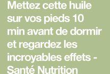 santé / dessert