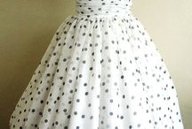 Polka dots and vintage / Vintage clothes