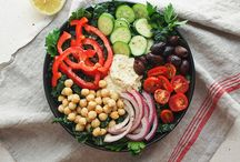 Salad Superstars / Healthy vegan salads
