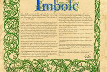 Imbolc - Celebration of the Light Returning / Imbolc is a happy time. It is the return of light to world as we leave the dark  winter. It is also a time to honour the goddess Brigid