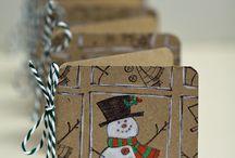 Christmas mini cards