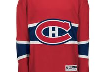 Montreal Canadiens - Official NHL Hockey Jerseys / We are the leader in custom NHL jerseys for fans. We sell licensed NHL jerseys including Reebok Premier NHL jerseys and Reebok EDGE NHL jerseys. Visit: CoolHockey.com to check out our stuff :)