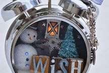 relojes navideños