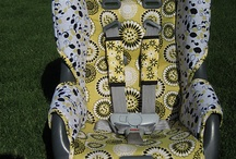 Childrens' crafts / Car seat cover / by Christine Cosby