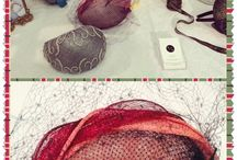 The Mad Hatter - millinery / How to make hats without a gluegun