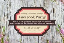 Events & Contests {Country Chic Paint} / Come see the exciting events and contests we're hosting at Country Chic Paint!