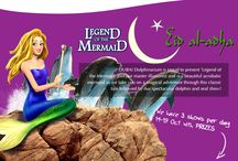 "Places to Visit / Dubai Dolphinarium is pleased to announce a new show ""Legend of the Mermaid"". Everybody are welcome to Dolphinarium, Dubai."