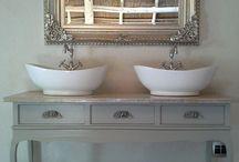 dressoir wastafel