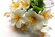 flor porcelana