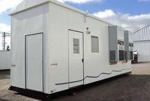 Shelters / Shelters: para equipos de comunicación, para instalaciones eléctricas, semirremolque para celdas, shelters desmontables.