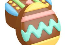 Easter themed food, cake and chocolate products / All things Easter to make at home