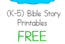 Bible Activities For Kids / by Cheryl Miller