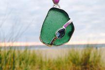 Sea Glass with Class / Real sea glass jewelry.