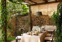 Pergola decor ideas / Home