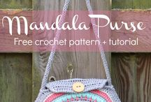 Crochet Purses, Totes, Tablet & Phone Covers / Free Crochet Patterns -Covers for phones tablets, crochet purses and tote bags