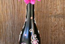 Artesanato con botellas