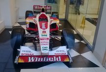 Alex Zarnardi F1 Race car / F1 Race car