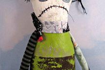 Art dolls / textil