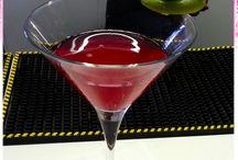 I Cocktails / Le creazioni durante i corsi.
