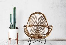 Bamboo in interiors / This board is all about how bamboo can fit into the home decor to create a relaxed natural look.  Whether it be to odd chair, table or even bedframe I will try and collect lots of idea together for you to browse and see what you like.  Bamboo is not just for the garden