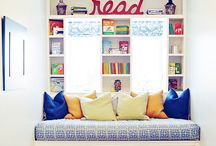 Reading Nooks / Inspiration to create inviting reading nooks for your children.