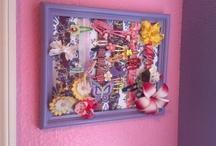 Crafts - Hair pretties - making & storing / by Darlene Burk