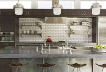 Interior Spaces-Kitchens / by Alyssa Boland