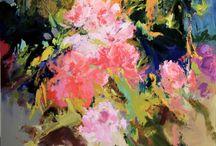 Jardines / pintura