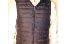 Sleeveless goose down puffer jackets / For more information, visit www.pinzani.biz