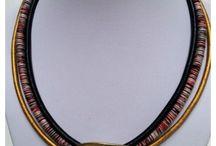 Boho Necklace / Handmade necklace -- Boho style