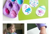 Happy Easter / Easter activities and ideas for children in preschool and daycare.